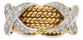 Estate Jewelry:Rings, Diamond, Platinum, Gold Ring, Jean Schlumberger for Tiffany &Co.. ...