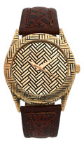 Estate Jewelry:Watches, John Hardy Gentleman's Gold Woven Bedeg Watch. ...