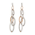 Estate Jewelry:Earrings, Pink Gold, Sterling Silver Earrings, Tacori. ... (Total: 2 Items)