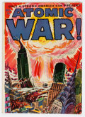 Golden Age (1938-1955):Science Fiction, Atomic War! #1 (Ace, 1952) Condition: VG....