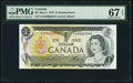 Canadian Currency: , BC-46aA-i $1 1973 Replacement EAX Prefix. ...