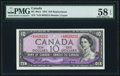 Canadian Currency: , BC-40aA $10 1954 Replacement *A/D Prefix. ...