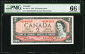 Canadian Currency: , BC-38bA 1954 $2 Replacement *B/B Prefix. ...