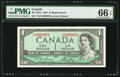 Canadian Currency: , BC-37dA $1 1954 Replacement *X/F Prefix. ...