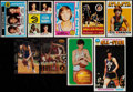 Basketball Cards:Lots, 1970-95 Pete Maravich Basketball Card Collection (9)....