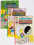 Bronze Age (1970-1979):Cartoon Character, Richie Rich Billions File Copies Group of 99 (Harvey, 1974-82)Condition: Average NM-.... (Total: 99 Comic Books)