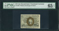 Fractional Currency:Second Issue, Fr. 1283 25¢ Second Issue PMG Gem Uncirculated 65 EPQ.. ...