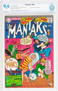 Silver Age (1956-1969):Humor, Showcase #69 The Maniaks (DC, 1967) CBCS NM+ 9.6 White pages....