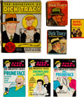 Big Little Book:Miscellaneous, Big Little Book Dick Tracy Related Group of 7 (Whitman,1930s-70s).... (Total: 7 Comic Books)