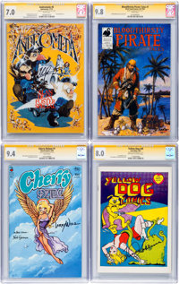 Signature Series Underground Group of 4 (Various, 1971-98) CGC.... (Total: 4 Comic Books)