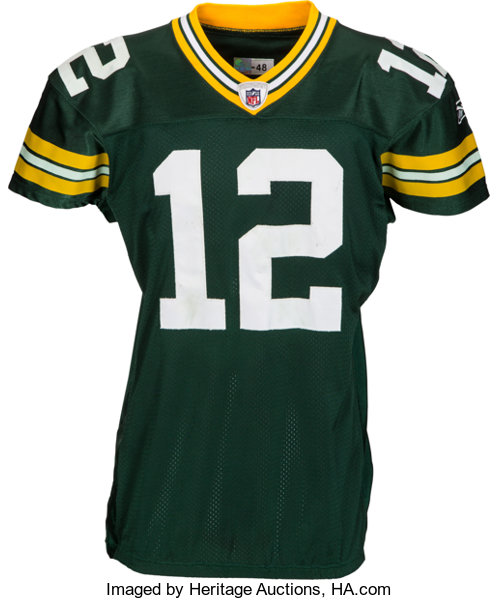 2011 Aaron Rodgers Game Worn Green Bay Packers Jersey from  62a9a4569