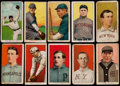 Baseball Cards:Lots, 1909-11 T206 White Borders (10) With Two HoFers! ...
