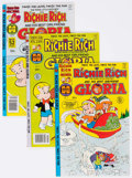 Modern Age (1980-Present):Humor, Richie Rich and Gloria File Copies Group of 79 (Harvey, 1977-82)Condition: Average NM-.... (Total: 79 Comic Books)