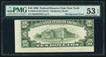 Error Notes:Skewed Reverse Printing, Fr. 2029-B $10 1990 Federal Reserve Note. PMG About Uncirculated 53EPQ.. ...