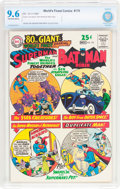 Silver Age (1956-1969):Superhero, World's Finest Comics #170 (DC, 1967) CBCS NM+ 9.6 Off-white to white pages....