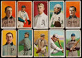 Baseball Cards:Lots, 1909-11 T206 White Borders (10) With Scarcer Brand & TwoHoFers! ...