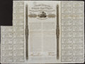 Confederate Notes:Group Lots, Ball 158 Cr. 118 £500 1863 Bond Fine-Very Fine. . ...