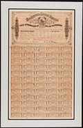 Confederate Notes:Group Lots, Ball 327 Cr. 144C $1000 Bond 1864 Fine. . ...