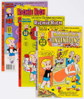 Bronze Age (1970-1979):Cartoon Character, Richie Rich Inventions File Copies Group of 85 (Harvey, 1977-82) Condition: Average NM-.... (Total: 85 Comic Books)
