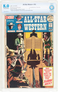 Bronze Age (1970-1979):Western, All-Star Western #10 (DC, 1972) CBCS VF 8.0 Off-white to white pages....