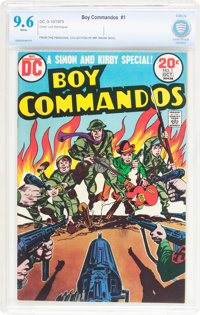 Boy Commandos #1 (DC, 1973) CBCS NM+ 9.6 White pages