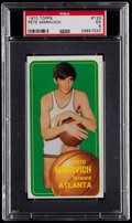 Basketball Cards:Singles (1970-1979), 1970 Topps Pete Maravich #123 PSA EX 5....