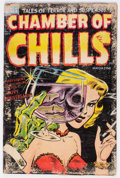 Golden Age (1938-1955):Horror, Chamber of Chills #19 (Harvey, 1953) Condition: FR....