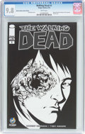 Modern Age (1980-Present):Horror, Walking Dead #1 Wizard World Des Moines Edition (Image, 2015) CGCNM/MT 9.8 White pages....