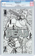 Modern Age (1980-Present):Horror, Walking Dead #1 Wizard World New Orleans Sketch Edition (Image,2015) CGC NM/MT 9.8 White pages....