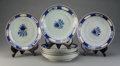 Asian:China Trade, A Set of Eight Chinese Export Porcelain Plates. 10-3/4 inchesdiameter (27.3 cm). ... (Total: 8 Items)