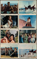 "Movie Posters:Adventure, The Giant of Marathon (MGM, 1960). Color Photo Set of 12 &Photos (2) (8"" X 10""). Adventure.. ... (Total: 14 Items)"