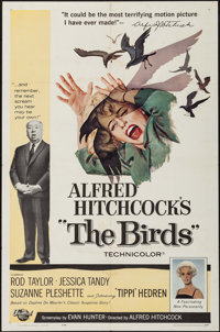 "The Birds (Universal, 1963). One Sheet (27"" X 41""). Hitchcock"