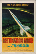 "Movie Posters:Science Fiction, Destination Moon (Pathé, 1950). One Sheet (27"" X 41""). ScienceFiction.. ..."