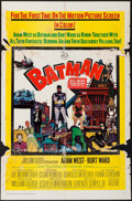 "Movie Posters:Action, Batman (20th Century Fox, 1966). One Sheet (27"" X 41""). Action....."
