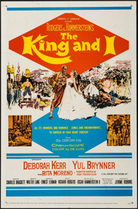 "The King and I (20th Century Fox, R-1962). One Sheet (27"" X 41""). Musical"