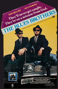 "The Blues Brothers (Universal, 1980). Original Soundtrack Album Poster (14.5"" X 23.5""). Comedy"
