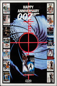 """Happy Anniversary 007 (MGM/UA Television Productions, 1987). Television One Sheet (27"""" X 41""""). James Bond"""
