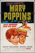 "Movie Posters:Fantasy, Mary Poppins & Others Lot (Buena Vista, 1964). One Sheets (20)(24.25"" X 36.25"" & 27"" X 41""), Half Sheet (22"" X 36""),Insert... (Total: 54 Items)"