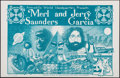 "Movie Posters:Rock and Roll, Merl Saunders and Jerry Garcia at the Armadillo WorldHeadquarters(AWH, 1974). Concert Poster (11"" X 17""). Rock andRoll.. ..."