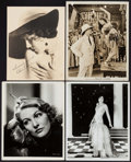"""Movie Posters:Adventure, Yellow Fingers & Others Lot (Fox, 1926). Photos (5), RestrikePhoto (approx. 8"""" X 10""""), Autographed Photo (7.5"""" X 9.5"""") &Tr... (Total: 10 Items)"""