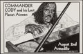 "Movie Posters:Rock and Roll, Commander Cody and his Lost Planet Airmen at the Armadillo WorldHeadquarters (AWH, 1975). Concert Poster (11"" X 17""). Rock ..."