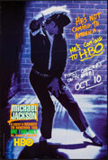 "Movie Posters:Rock and Roll, Michael Jackson: The Dangerous Tour (HBO Films, 1992). Television One Sheet (27"" X 40"") SS Advance. Rock and Roll.. ..."