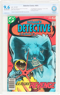 Detective Comics #474 (DC, 1977) CBCS NM+ 9.6 Off-white to white pages