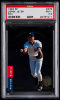 Baseball Cards:Singles (1970-Now), 1993 SP Derek Jeter #279 PSA NM+ 7.5....