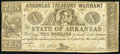 Obsoletes By State:Arkansas, Little Rock, AR- State of Arkansas $10 Mar. 13, 1863 Cr. 54C. ...