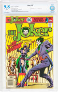Bronze Age (1970-1979):Superhero, The Joker #9 (DC, 1976) CBCS NM/MT 9.8 White pages....
