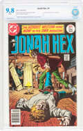 Bronze Age (1970-1979):Western, Jonah Hex #1 (DC, 1977) CBCS NM/MT 9.8 White pages....