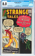 Silver Age (1956-1969):Superhero, Strange Tales #110 (Marvel, 1963) CGC VF 8.0 Cream to off-whitepages....
