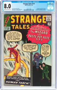 Strange Tales #110 (Marvel, 1963) CGC VF 8.0 Cream to off-white pages