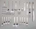 Silver Flatware, American:International, A One Hundred Fifty-Four Piece International Silver RoyalDanish Pattern Silver Flatware Service for Twelve, Mer...(Total: 154 Items)